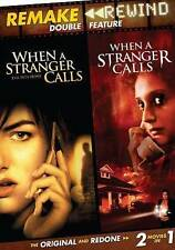 REMAKE REWIND - When A Stranger Calls Double Feature - 1979 & 2006 versions DVD