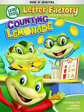 Leapfrog Letter Factory Adventures: Counting On Lemonade [DVD], DVD, Michael Dai