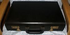 NEW Coach Vintage Blk Executive Business Attache Briefcase Made in United States