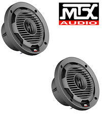 MTX WET65-C 6.5 INCH 65W RMS 4Ω COAXIAL MARINE SPEAKERS PAIR FREE SHIPPING