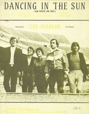 Dancing In The Sun - THE DIABLOS - Sheet Music