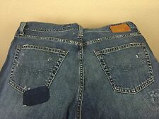 "AG Adriano Goldschmied Fillmore Men's Jeans Distress 36"" x 30"" Made In USA"