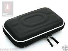 "Black Hard Carry Case Cover Bag Zipper Cover Pouch 2.5"" HDD 5"" GPS Garmin Nuvi"