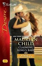Claiming King's Baby (Silhouette Desire), Child, Maureen, 0373769717, Book, Acce