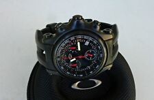 Oakley Men's 10-228 Holeshot Stealth Unobaintium Limited Edition Chrono Watch
