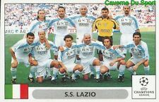 077 TEAM SQUADRA ITALIA SS.LAZIO STICKER PANINI UEFA CHAMPIONS LEAGUE 2000-2001