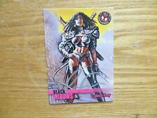 1996 SPIDER-MAN PREMIUM TYPHOID MARY CARD SIGNED MARK 'TEX' TEXEIRA,WITH POA