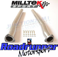 Milltek SSXAU588 Audi RS3 8v Exhaust De-Cats Secondary Cat Bypass Pipes -Fits OE