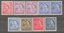 GB 1958 Regionals Collection~Guernsey~(9)~Unmounted Mint~UK Seller