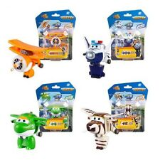 SUPER WINGS - SET 4 FIGURAS / TRANSFORMER PLANES / 4 FIGURES SET 6cm