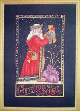 "Lorri Birmingham ""Christmas Magic"" Counted Cross Stitch Kit with Embellishments"