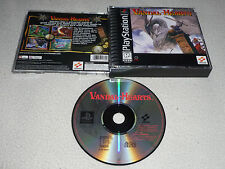 PLAYSTATION PS1 VIDEO GAME VANDAL HEARTS  RARE KONAMI  RPG ROLE PLAYING PS2