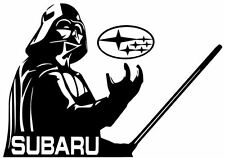 STAR WARS DARTH VADER Car Truck Window Vinyl Decal Sticker for SUBARU