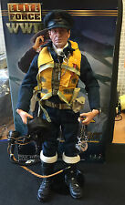 WWII ELITE FORCE BBI BRITISH RAF FIGHTER PILOT SPITFIRE 1/6 FIGURE DID DRAGON