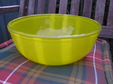 Vintage Colourful Pyrex 4 Pint YELLOW No 303 Glass Mixing Bowl