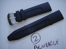 ANONIMO 22 MM RUBBER STRAP used but in excellent shape WITH ANONIMO BUCKLE