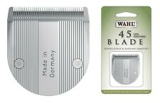 Wahl Replacement Clipper Blade - Size # 45 - High Quality - Extra Life !