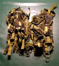 Tactical load bearing vest, CAMO pattern, ammo pouches.