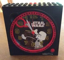 Star Wars Stormtrooper Chewbacca Lego Alarm Clock- Clock And Alarm Work