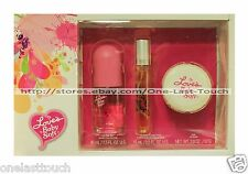 LOVE'S* 3pc Gift Set BABY SOFT Cologne Mist+Cylinder Spray+Soap DANA FRAGRANCE