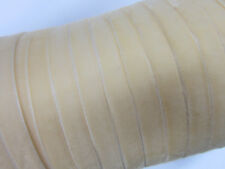 "10 yard 3/8"" Velvet Ribbon 9mm/satin back/wedding/Craft/Bow R116-Ivory FREE SHIP"