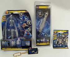 DOCTOR WHO : MICRO FIGURE, KEY RING, SONIC SCREWDRIVER PEN, CYBERMAN TOY (TK)