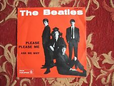 The Beatles Please, please me/ Ask me why Parlophon QMSP 16346 MINT-