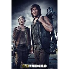 The Walking Dead - Daryl Dixon & Carol - Poster - New Licensed