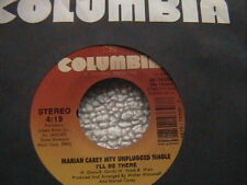 "MARIAH CAREY ""I'LL BE THERE"" (MTV UNPLUGGED) / ""SO BLESSED""  7"" 45 MINT-"