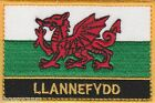 Llannefydd Wales Cymru Town & City Embroidered Sew on Patch Badge