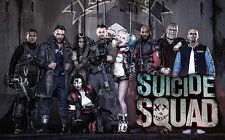 """052 Suicide Squad - 2016 Film Task Force X Movie 38""""x24"""" Poster"""