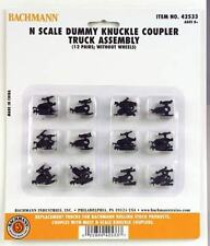 Bachmann 42533 1 x Pair 'N' Dummy Knuckle Coupler Truck Assembly (No Wheels) 1st