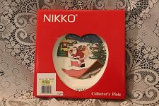 Nikko IT'S THE HOLIDAY SEASON 21st CHRISTMASTIME Edition 2013 Collector Plate