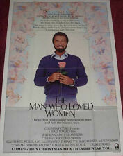 Cinema Poster: MAN WHO LOVED WOMEN, THE 1983 (Quad) Burt Reynolds
