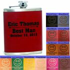 Personalized Hip Flasks Wedding Party Gifts Groomsmen Bridal Shower Presents