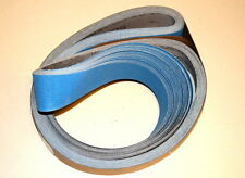 "2""x 72"" Ceramic Sanding Belts J-Flex P220 Grit - A Sharp and Cool Cut - 5 PC"