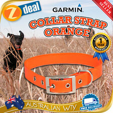 GARMIN COLLAR STRAP ORANGE FOR DC40 DC50 T5  TT10 TT15