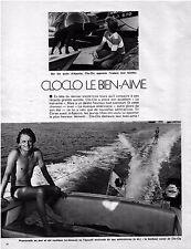 ▬►  CLIPPING Claude FRANÇOIS Clo-clo 2 pages 1974