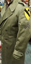 1st Battalion/Korean War-Era Double Breasted Trench Coat/Jacket (1951)Wool Liner