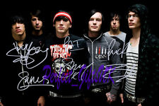 ALESANA BAND SIGNED AUTOGRAPHED 10X8 PP REPRO PHOTO PRINT Dennis Lee Shawn Mike