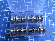 12 Metal BOBBINS in a Bobbin Box  for  Singer Class 66 Sewing Machines  #172222