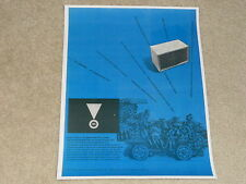 JBL Harkness C40 Speaker Ad 1956, 1 page, Very Rare Info