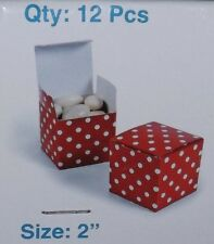 "2"" Gift Boxes, Birthday Favor, Wedding, Candy Buffet, Christmas, Valentines Day"