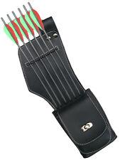 Cuir synthétique côté / hanche droite carquois avec pocket archery products saq142