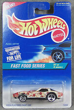 HOT WHEELS ~ FAST FOOD SERIES ~ PIZZA VETTE ~ 1980 CORVETTE ~ 1//64