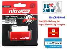 Diesel Nitro OBD2 Tuning Box Chip Mercedes Mazda Jaguar REMAP ECU