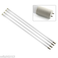 "4-pack 20W T8 LED Light Tube 4ft 48"" 6500K Daylight T8 SMD LED Tube Bulbs 110V"