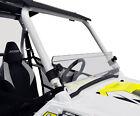 NEW POLARIS RZR SHORT WINDSHIELD 570 800 900 XP RZR 4 WINDOW LEXAN HALF