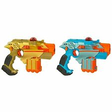 NERF Lazer Tag Phoenix LTX TAGGER SET, Pack of 2 Lazer Tag BLASTERS & FOAM PLAY