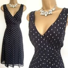 LAURA Ashley DRESS SIZE 12 Silk Holiday Party Occasion Evening,